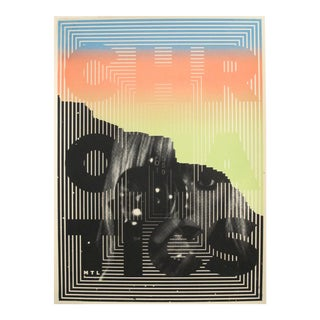2019 Contemporary Music Poster by Sébastien Lépine - Chromatics For Sale