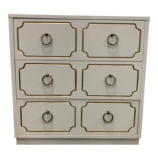1970s Regency 3-Drawer Chest For Sale