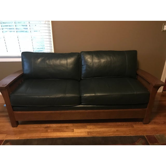 Awe Inspiring Stickley Mission Orchard St Bow Arm Sofa Gmtry Best Dining Table And Chair Ideas Images Gmtryco