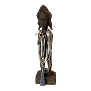 Tall African Statue For Sale