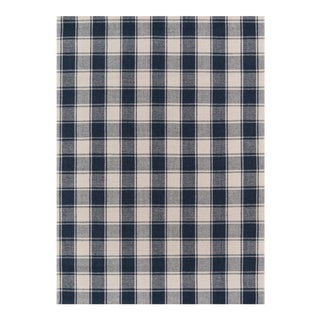 Erin Gates by Momeni Marlborough Charles Navy Hand Woven Wool Area Rug - 8′ × 10′