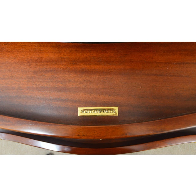 Maitland Smith Mahogany Chippendale Dresser Chest Commode For Sale - Image 12 of 13