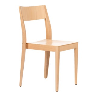 Dietiker Soma Dining Chair in Beech Wood Designed by Thomas Albrecht For Sale