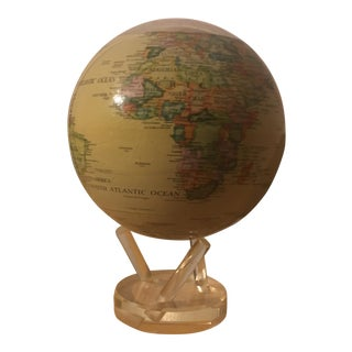 Mova Spinning Globe on Lucite Base