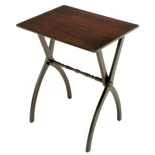19th Century Mahogany Folding Coach Table For Sale