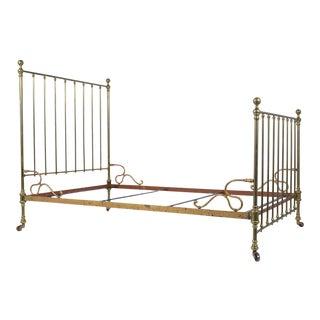 Brass Antique Bed Frame For Sale