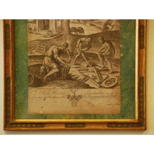 Wenceslaus Hollar Engraving For Sale - Image 4 of 6