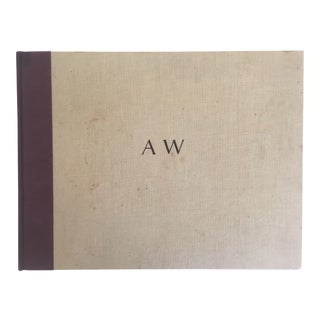 """Aw Andrew Wyeth"" Vintage 1968 1st Edition Oversized Xlrg Collector Art Book"
