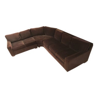 Mitchell Gold + Bob Williams Curved Sectional Couch