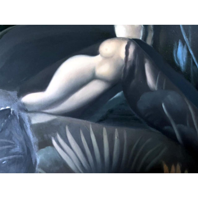 Modern Oil Painting on Canvas by Yang Qian For Sale - Image 3 of 13