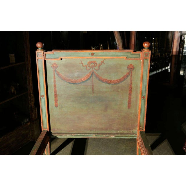 Mid 19th Century Venetian Painted Day Bed For Sale - Image 5 of 8