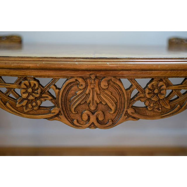 Early 20th Century Antique Tonk French Court Galleries Coffee Table For Sale In Washington DC - Image 6 of 13