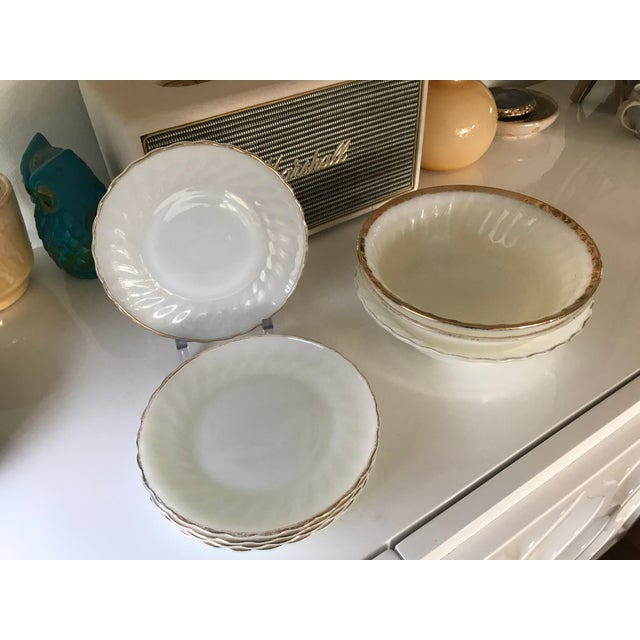 Anchor Hocking Suburbia Dinnerware - 8 Piece Set For Sale - Image 10 of 10