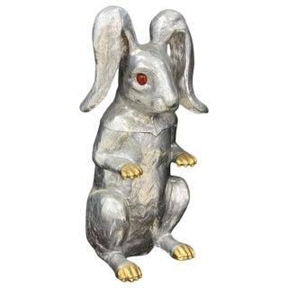 Arthur Court Rabbit Hinged Ice Bucket or Wine Cooler