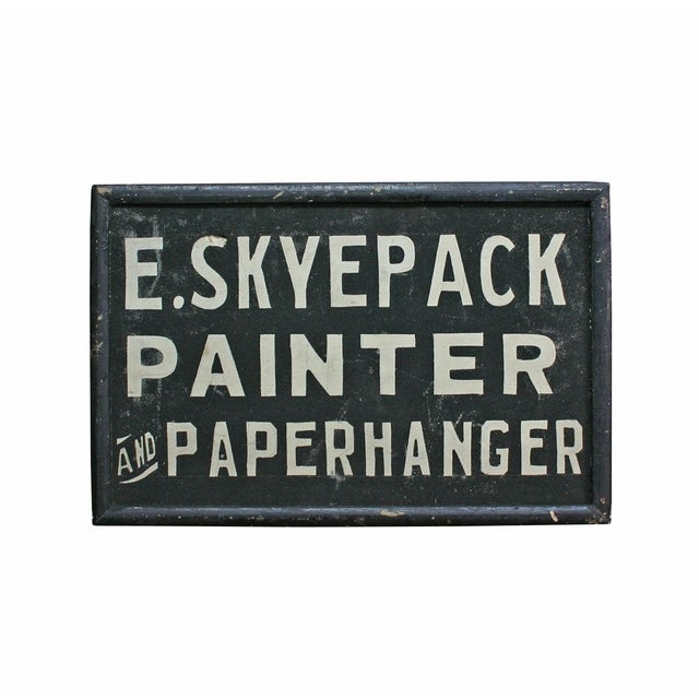 E. Skyepack Painter & Paperhanger Sign - Image 1 of 3