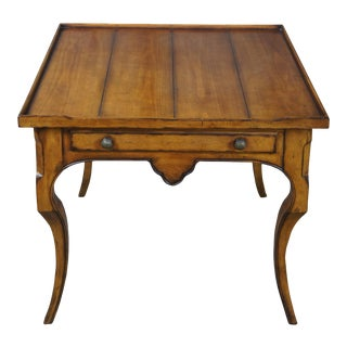 Century Furniture Brisbane French Country Chairside End Table For Sale