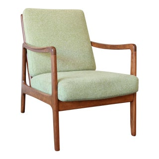 John Stuart Mid-Century Teak Lounge Chair by Ole Wanscher For Sale