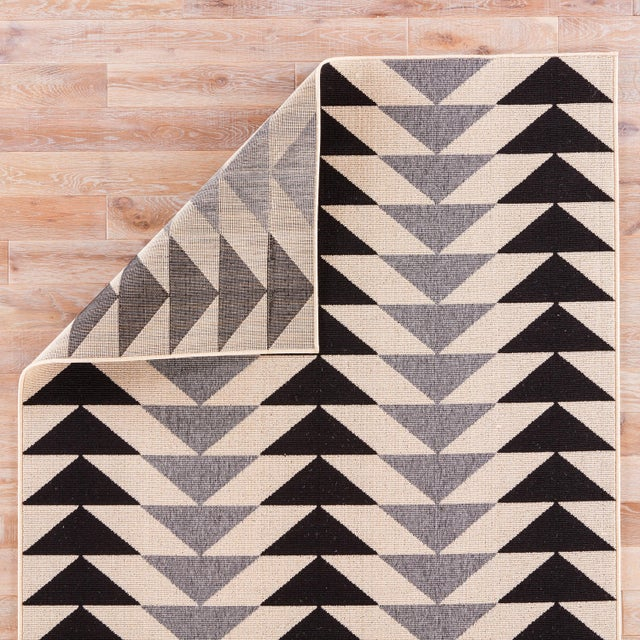 Jaipur Living McKenzie Indoor/ Outdoor Geometric Area Rug - 9′6″ × 13′ For Sale - Image 4 of 6