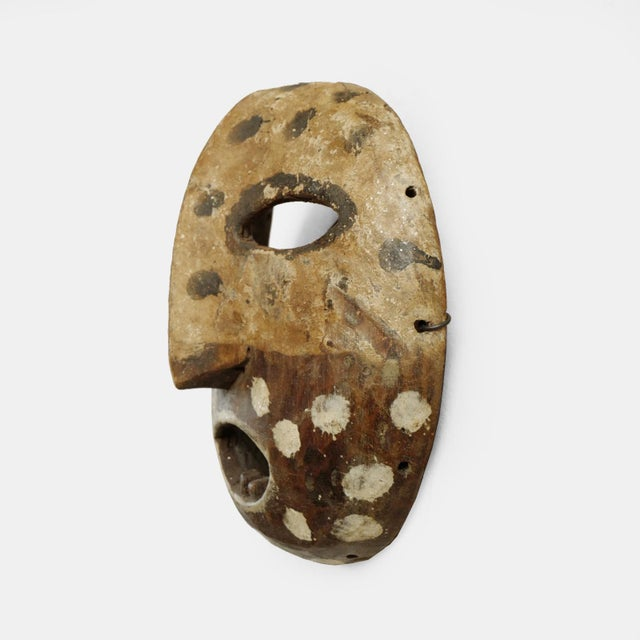 Original Lega mask from The Democratic Republic of Congo. Used during initiation into the Bwami societies.