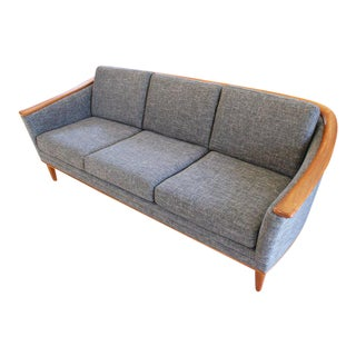 Mid-Century Modern Sofa With New Foam & Upholstery, 1960s