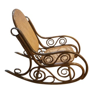 Vintage French Country Bentwood Rocker