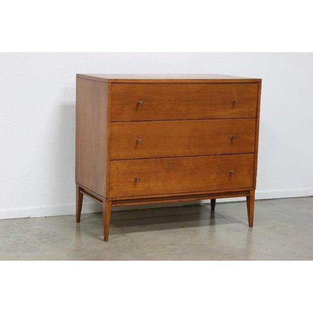 Contemporary Paul McCobb Planner Group 3 Drawer Bachelor Dresser For Sale - Image 3 of 5