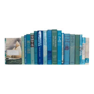 Vintage Sea Spray Nautical Books - Set of 18 For Sale