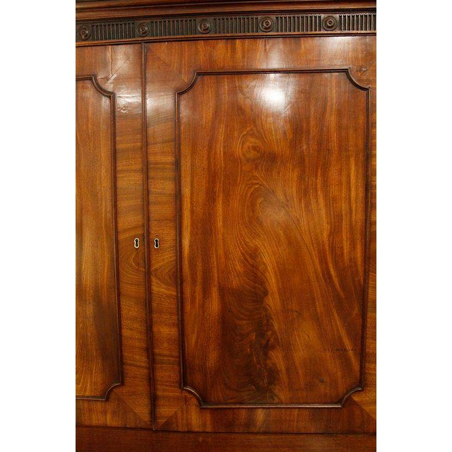 18th Century George III Period Linen Press For Sale - Image 6 of 8