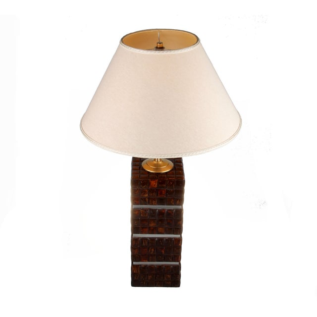 Cubical Wooden Table Lamp - Image 9 of 9