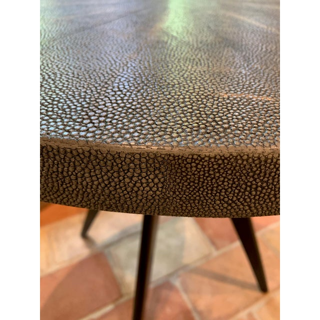 Round Cocktail Table For Sale In Boston - Image 6 of 7