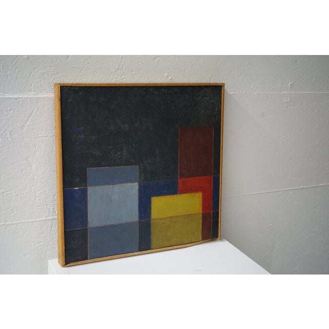 Mid-Century Abstract Painting For Sale - Image 4 of 7
