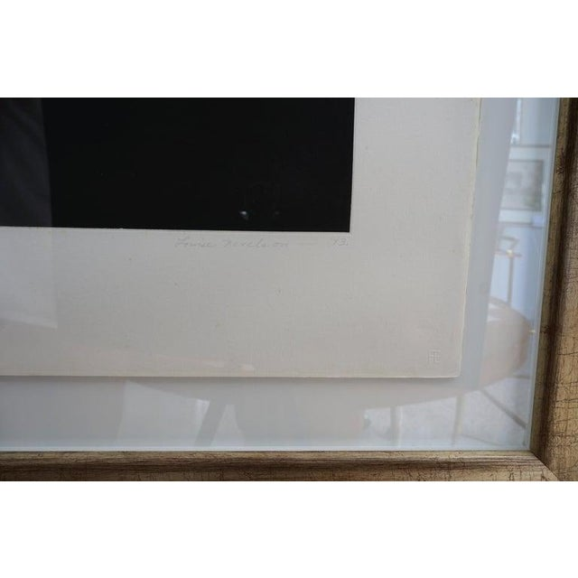 "Vintage 1973 Louise Nevelson ""Aquatint Iii"" Pace Galleries Aquatint Etching and Collage Pencil Signed and Numbered 10 of 90 For Sale - Image 9 of 13"