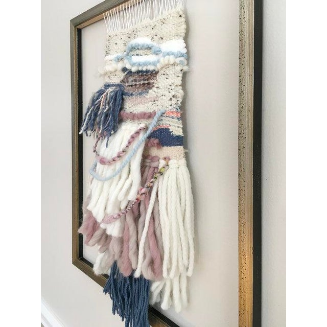 Textile Dolores Tema, Weaver's Tale Painting, 2018 For Sale - Image 7 of 8
