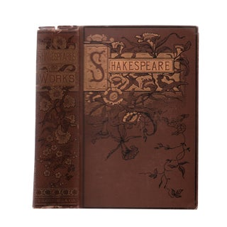 "1895 ""Complete Works of Shakespeare"" Collectible Book For Sale"