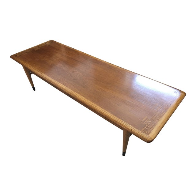 Mid Century Modern Walnut Coffee & Side Table Set by Andre Bus for Altavista Lane - Image 1 of 9