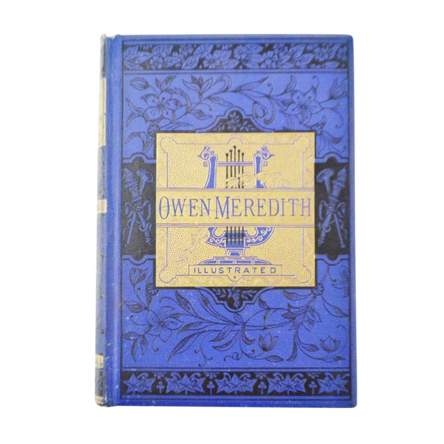 The Poetical Works of Owen Meredith Illustrated Hardbound Book - 1881 - Image 1 of 8