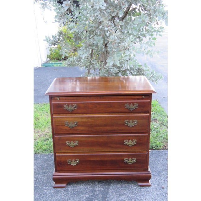 This classic Small Dresser is made of wood, solid wood, solid cherry, and is in good condition. This wonderful Dresser has...