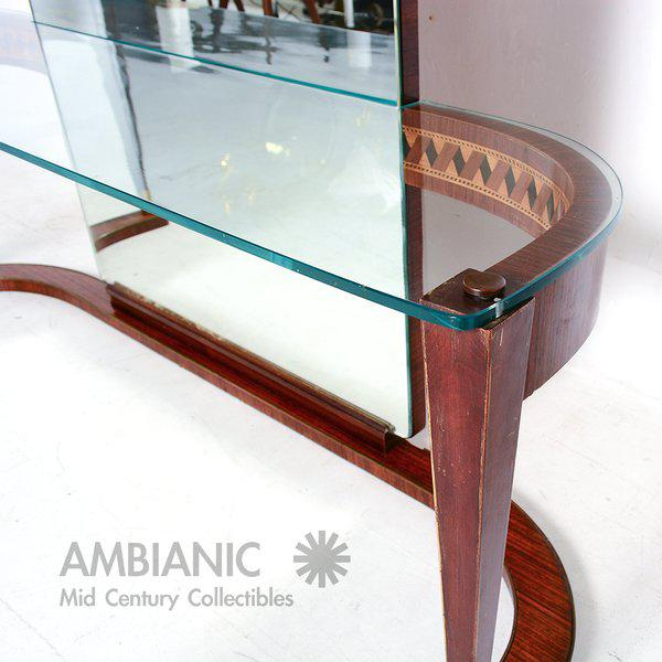 Italian Console Table With Mirror For Sale In San Diego - Image 6 of 8