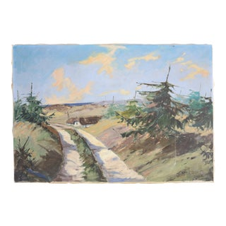 Danish Country Landscape Painting