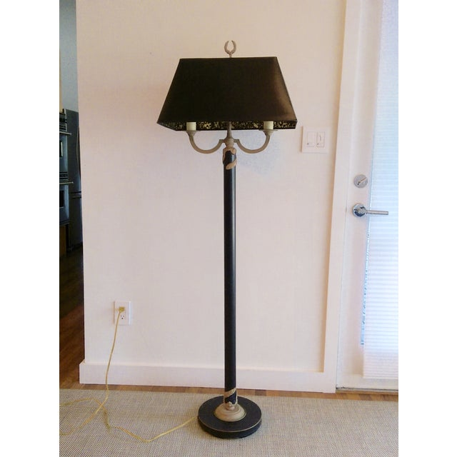 Greek-Style Traditional Floor Lamp - Image 2 of 7