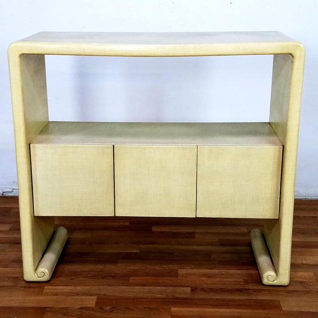 Mid-Century Harrison Van Horn Style Console Sofa Table For Sale - Image 12 of 13