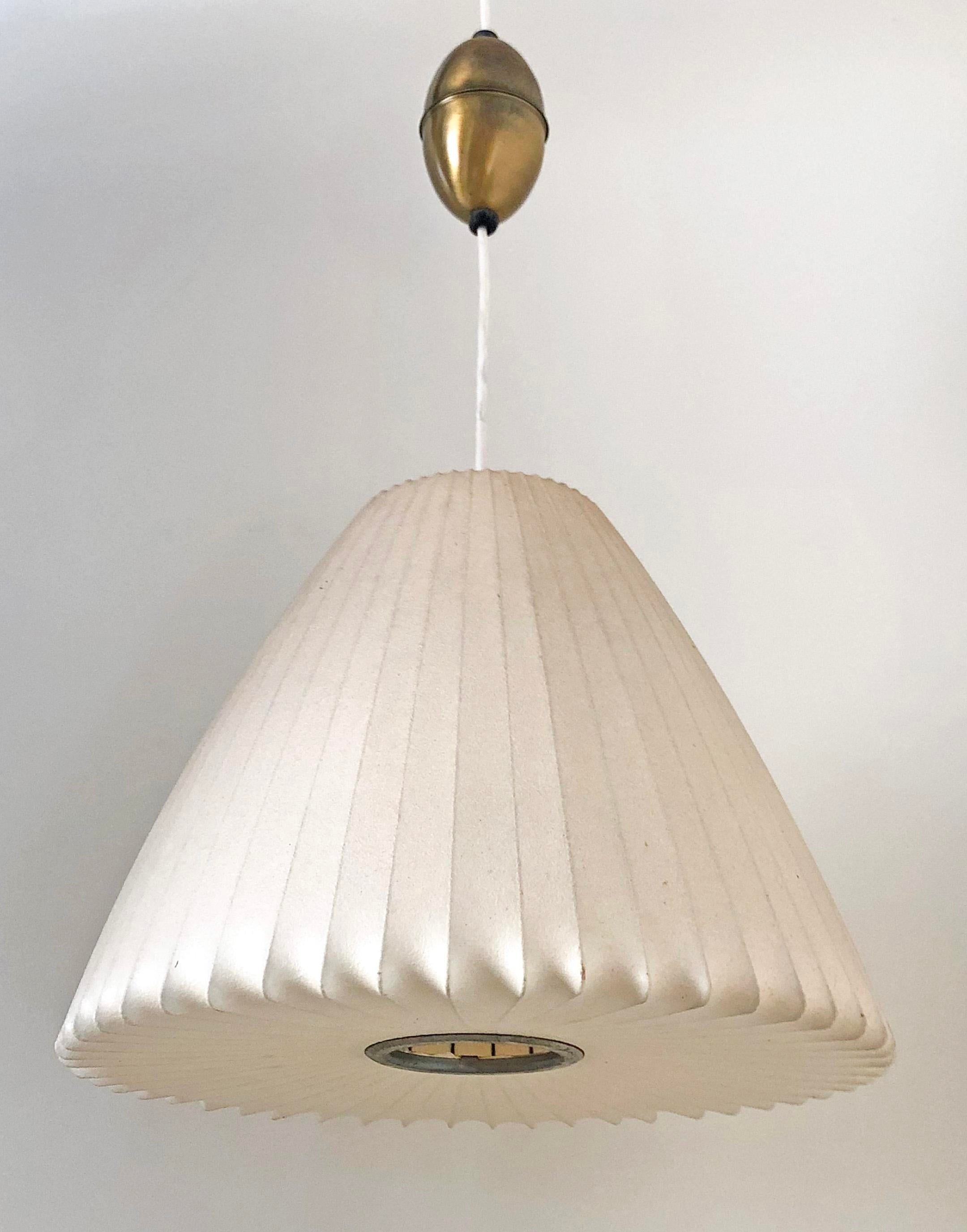 Luxury George Nelson For Howard Miller Bell Pendant Bubble Lamp Decaso