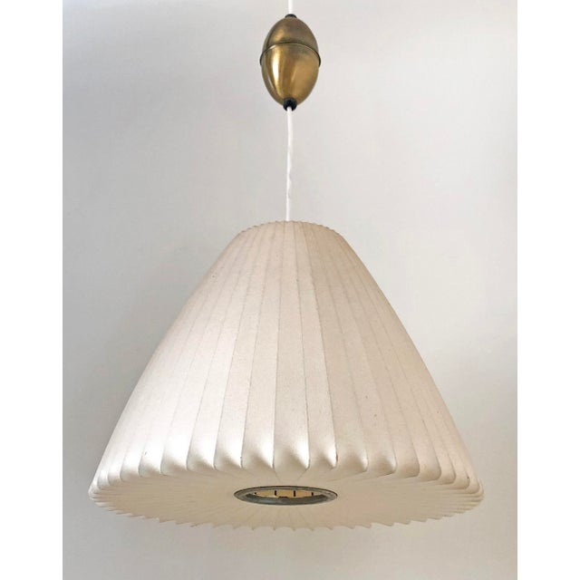 George Nelson for Howard Miller Bell Pendant Bubble Lamp For Sale In Las Vegas - Image 6 of 6