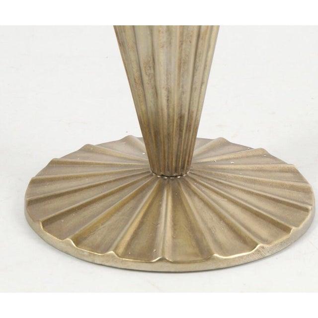 """Sale! Art Deco Ballard Designs """"Nadia"""" Side Table For Sale In Dallas - Image 6 of 12"""