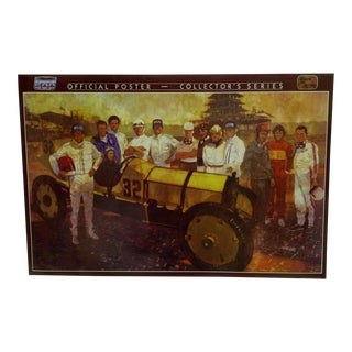 Bernie Fuchs Indianapolis 500 Official Poster For Sale