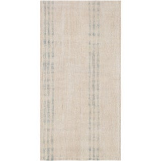 "Turkish Pasargad Kilim Hemp Rug - 3'3"" X 5'8"" For Sale"