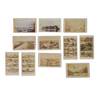 Antique Collection Grand Tour Scenic Photographs - Set of 11 For Sale
