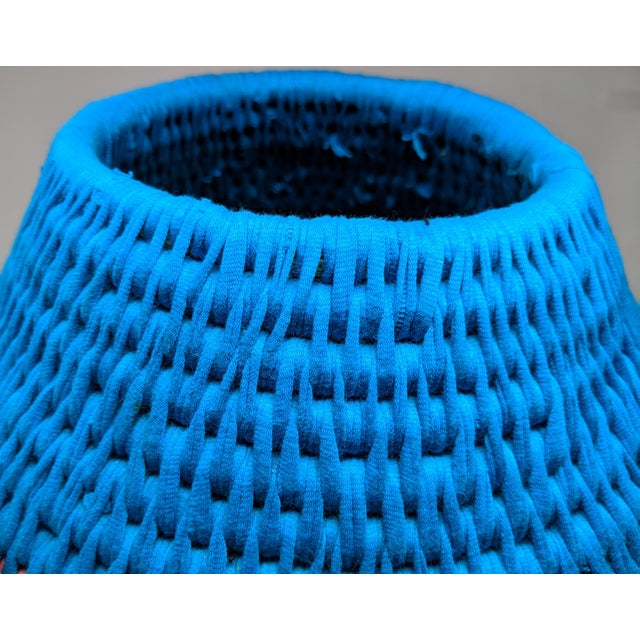 African Woven Vase - Made in Swaziland For Sale - Image 9 of 13