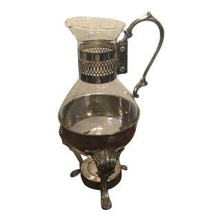 Vintage International Silver Coffee Carafe For Sale