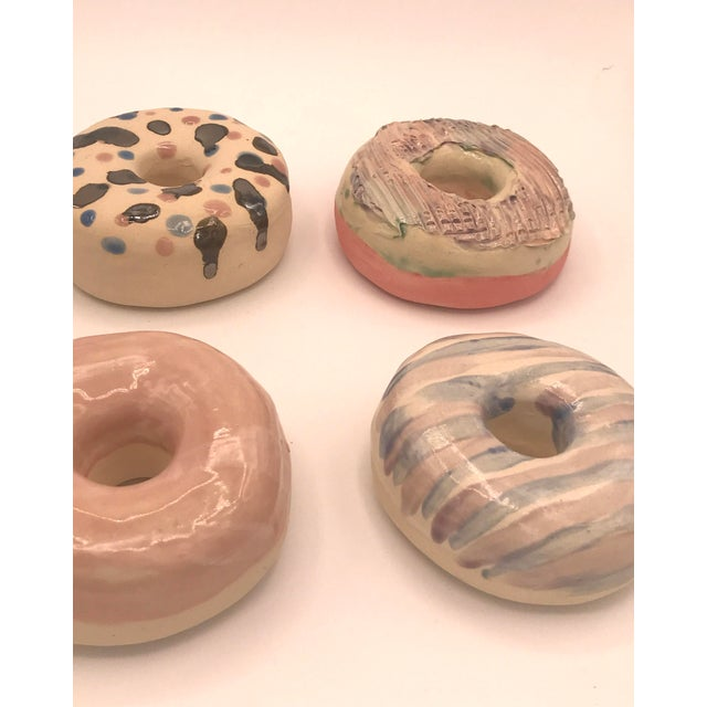 Surface Ceramics Surface Ceramics Wall Donuts - Set of 6 For Sale - Image 4 of 9